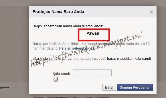 how to create a fb account without name